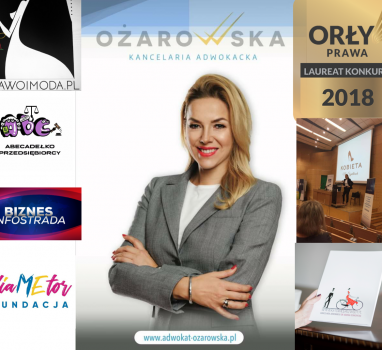 """""""Kancelaria dr Joanna Ożarowska – działalność na wielu polach"""". Podsumowanie"""
